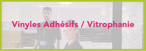 impresson sur vinyles adhésif et vitrophanie marseille