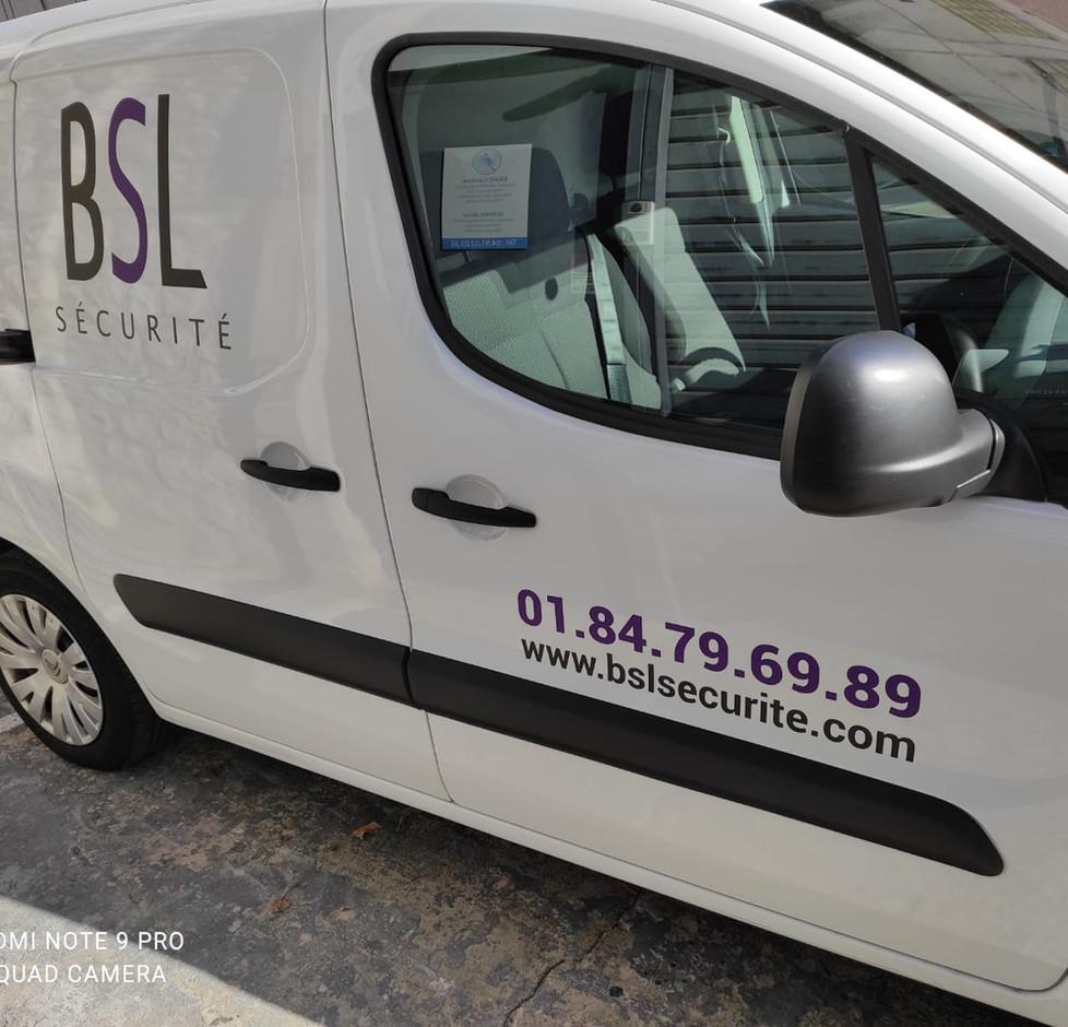 Flocage voiture BSL marseille