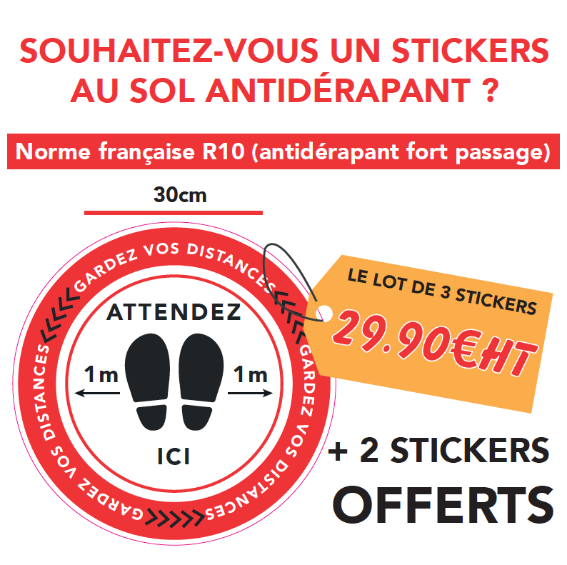 stickers sol antidérapant