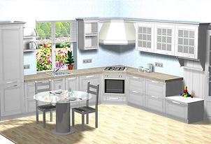 кухня Геос Идеал, МДФ, шпон, белорусские кухни