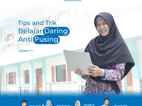 Tips and Trick  Belajar Daring Anti Pusing