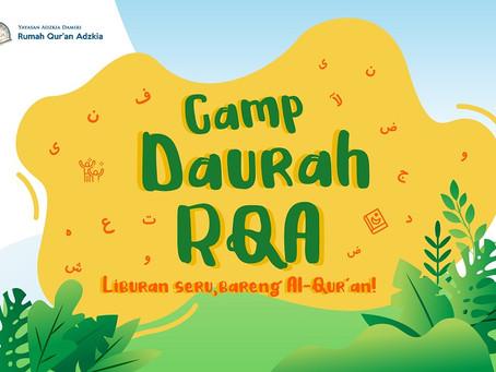 Penutupan Daurah Camp RQA