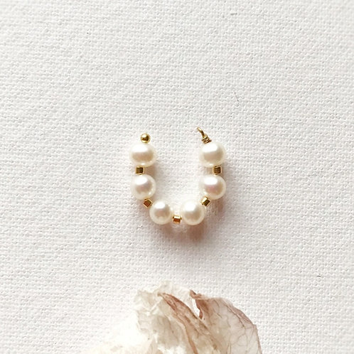 Ear Cuff - Perle di Fiume coltivate