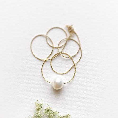 Catenina con Perla di Fiume coltivata