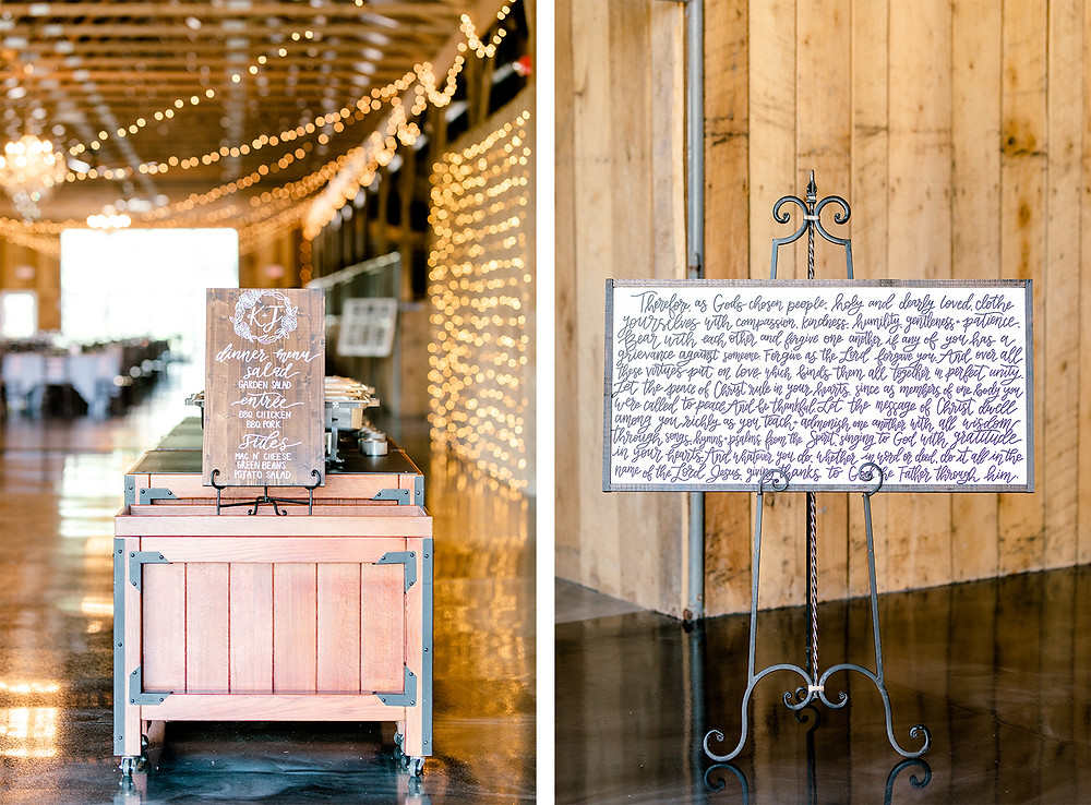 Bluegrass Wedding Barn Created with Grace Photography