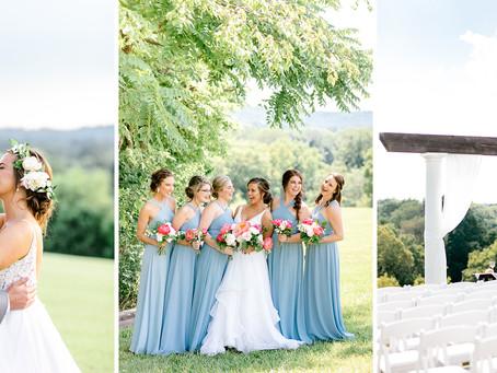 SUMMER WEDDING AT BLUEGRASS WEDDING BARN | Josephine & Kevin