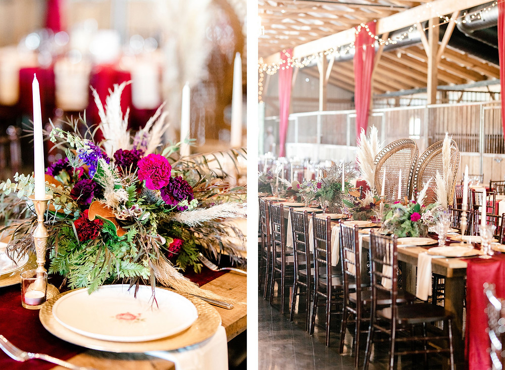 Fall Wedding Bluegrass Wedding Barn Lexington Created with Grace Photography