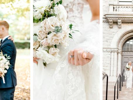 FALL WEDDING AT LIMESTONE HALL   Danielle & Brian