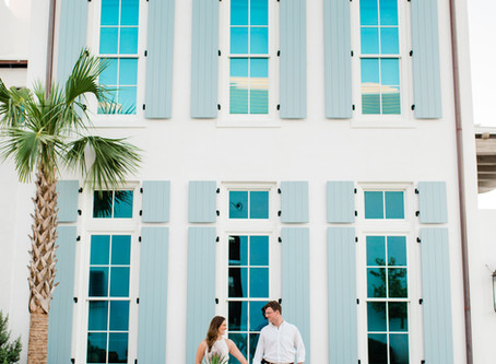 ALYS BEACH ENGAGEMENT SESSION| Meredith & Chase
