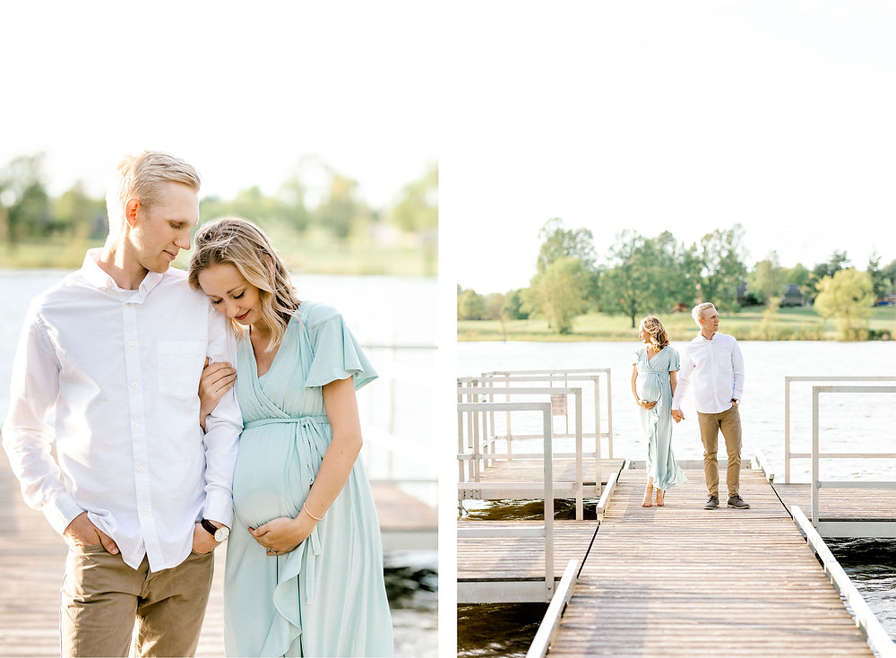maternity session Lexington created with grace photography