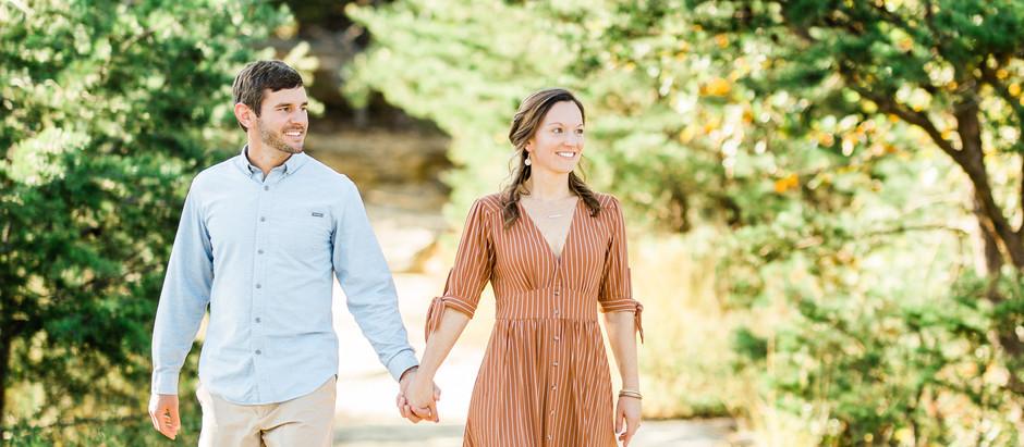 FALL ENGAGEMENT SESSION AT RED RIVER GORGE | Allison & Jordan