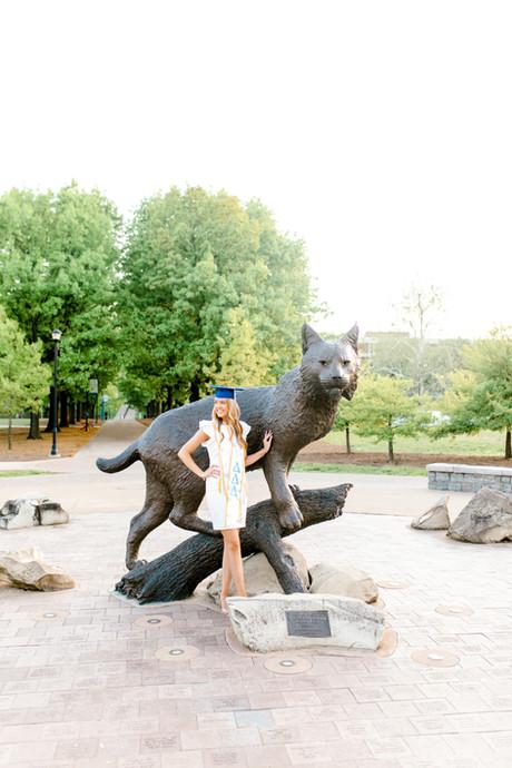 Lexington University of Kentucky Graduation Photos