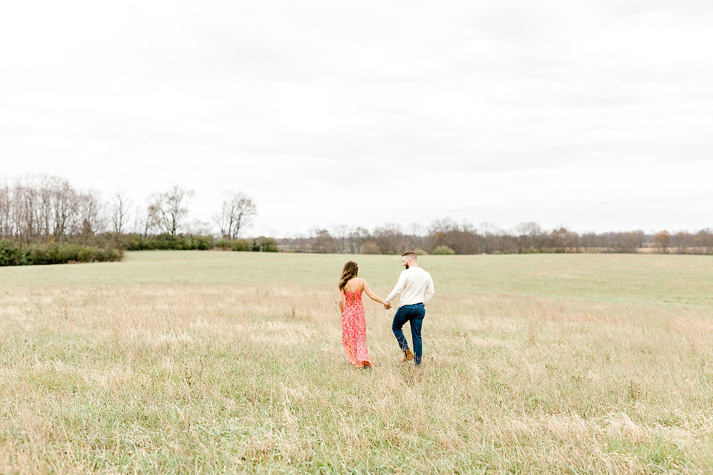 Jacobson Park Talon Winery Lexington Engagement Session Created with Grace Photography