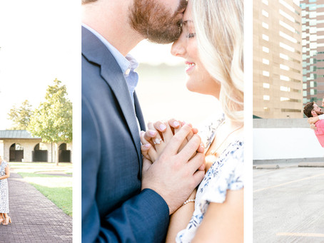 KEENELAND & DOWNTOWN LEXINGTON ENGAGMENT SESSION | Catie & Brendan