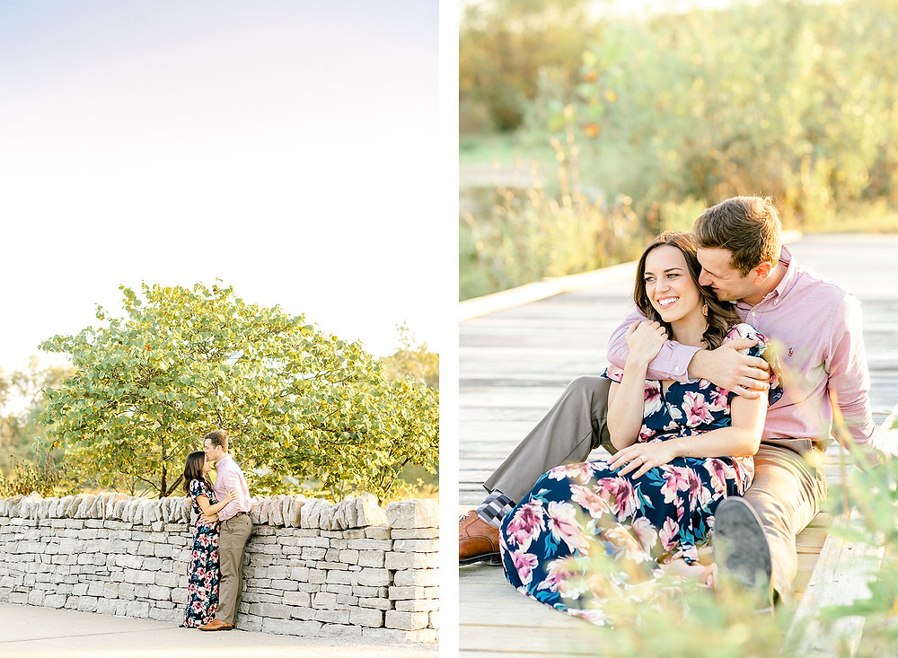 Louisville Beckley Creek Parklands Engagement Created with Grace