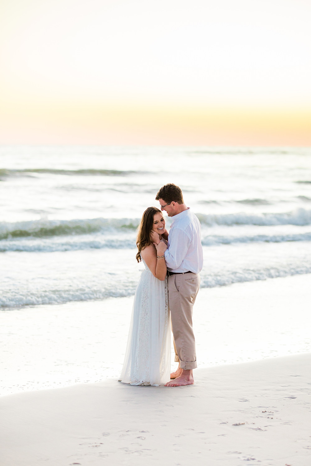 Alys Beach Seaside FL Florida Engagement Session Wedding Created with Grace Photography