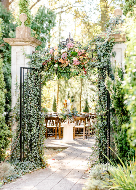 Louisville White Hall House Gardens Wedding Created with Grace Photography
