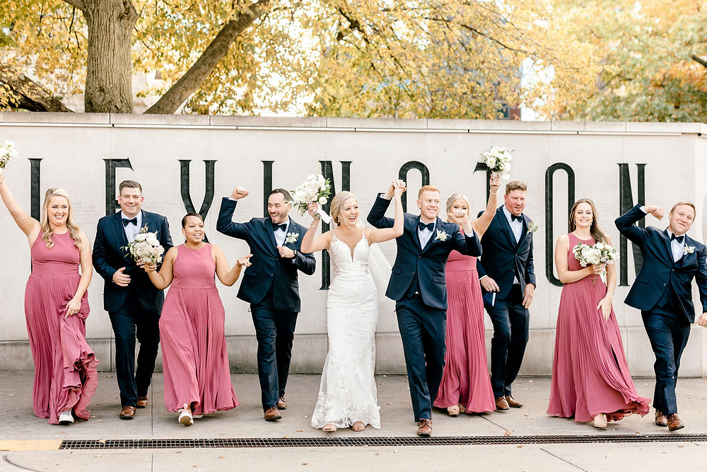 Limestone Hall Gratz Park Wedding Created with Grace Photography
