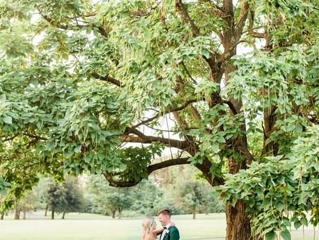 SUMMER WEDDING AT SPRING VALLEY GOLF CLUB | Sladyn & Danielle