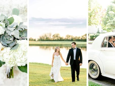 SUMMER WEDDING AT ESTES CHAPEL & TALON WINERY | Madison & Billy
