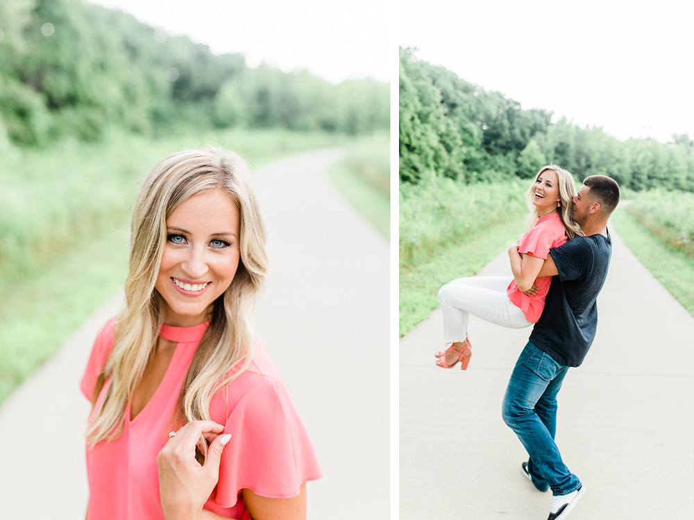Created with Grace Photography Louisville Parklands Engagement Session