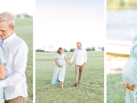 SPRING MATERNITY SESSION | Ally & Luke