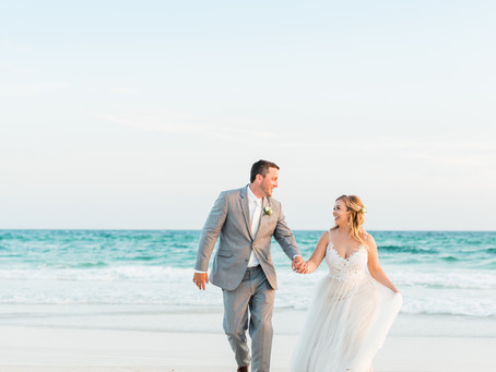 WEDDING IN SANTA ROSA BEACH, FL | Laura & Blake