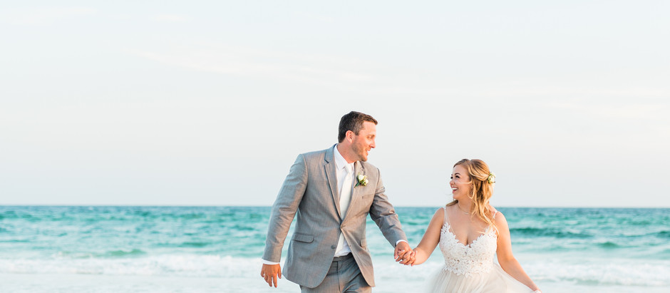 WEDDING IN SANTA ROSA BEACH, FL | Laura & Blake