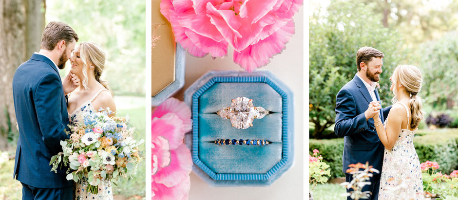 INTIMATE WEDDING AT THE HENRY CLAY ESTATE