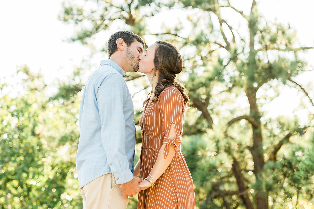 Red River Gorge Engagement Session Photographer Created with Grace Photography