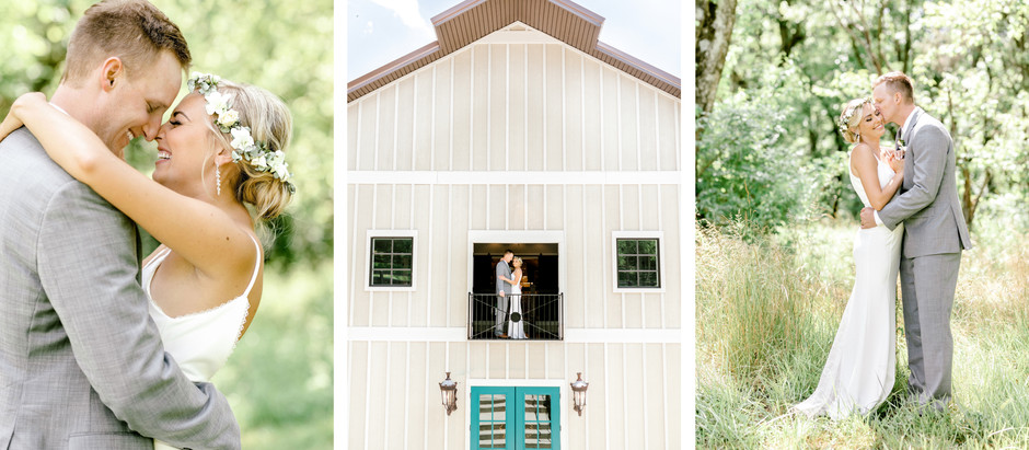 INTIMATE WEDDING AT  ST. MARGARET MARY & HAZELNUT FARM | Emily & Michael