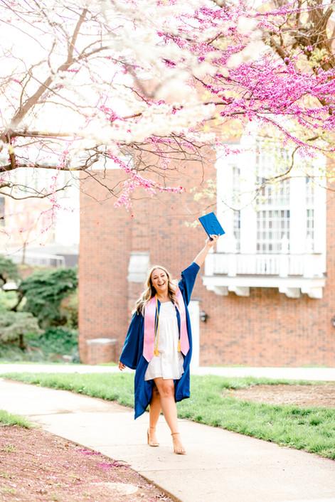 Lexington University of Kentucky Graduation Photography