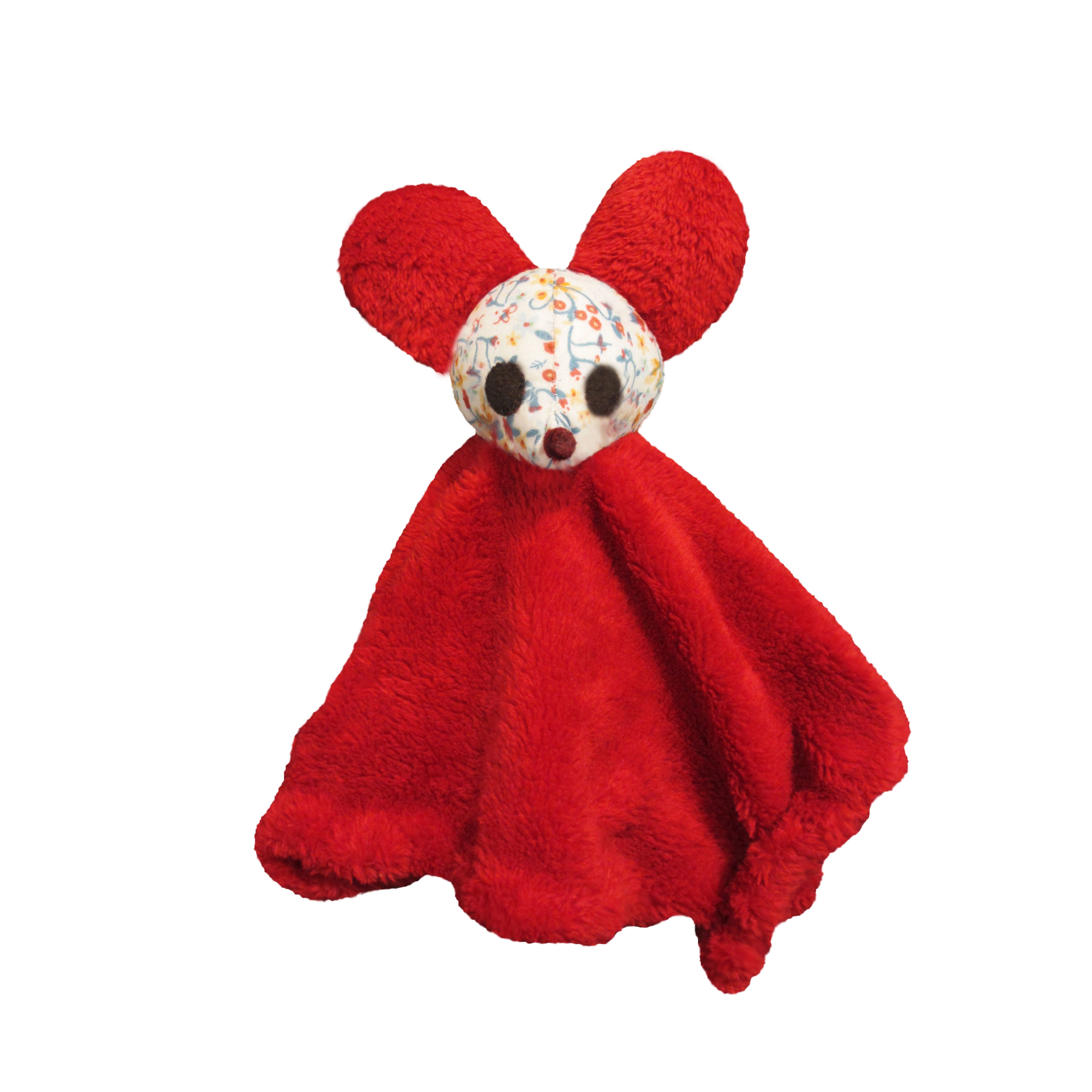 doudou rouge clown 1