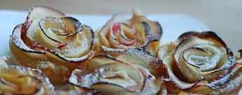 Rosa Redtrucks de manzana y hojaldre para Sant Jordi