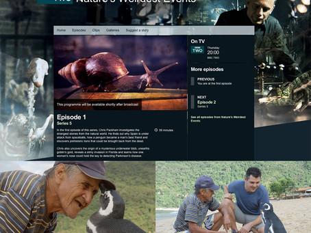 Imagens na BBC, Nature's Weirdest Events