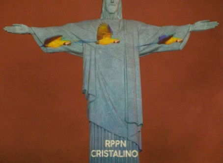 Imagens de João Paulo são projetadas no Cristo Redentor