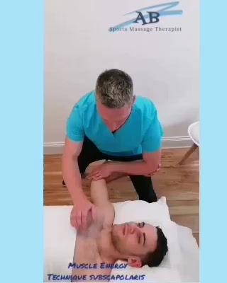 Muscle Energy Technique Subscapolaris