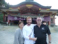 With Ma and Pa in Japan