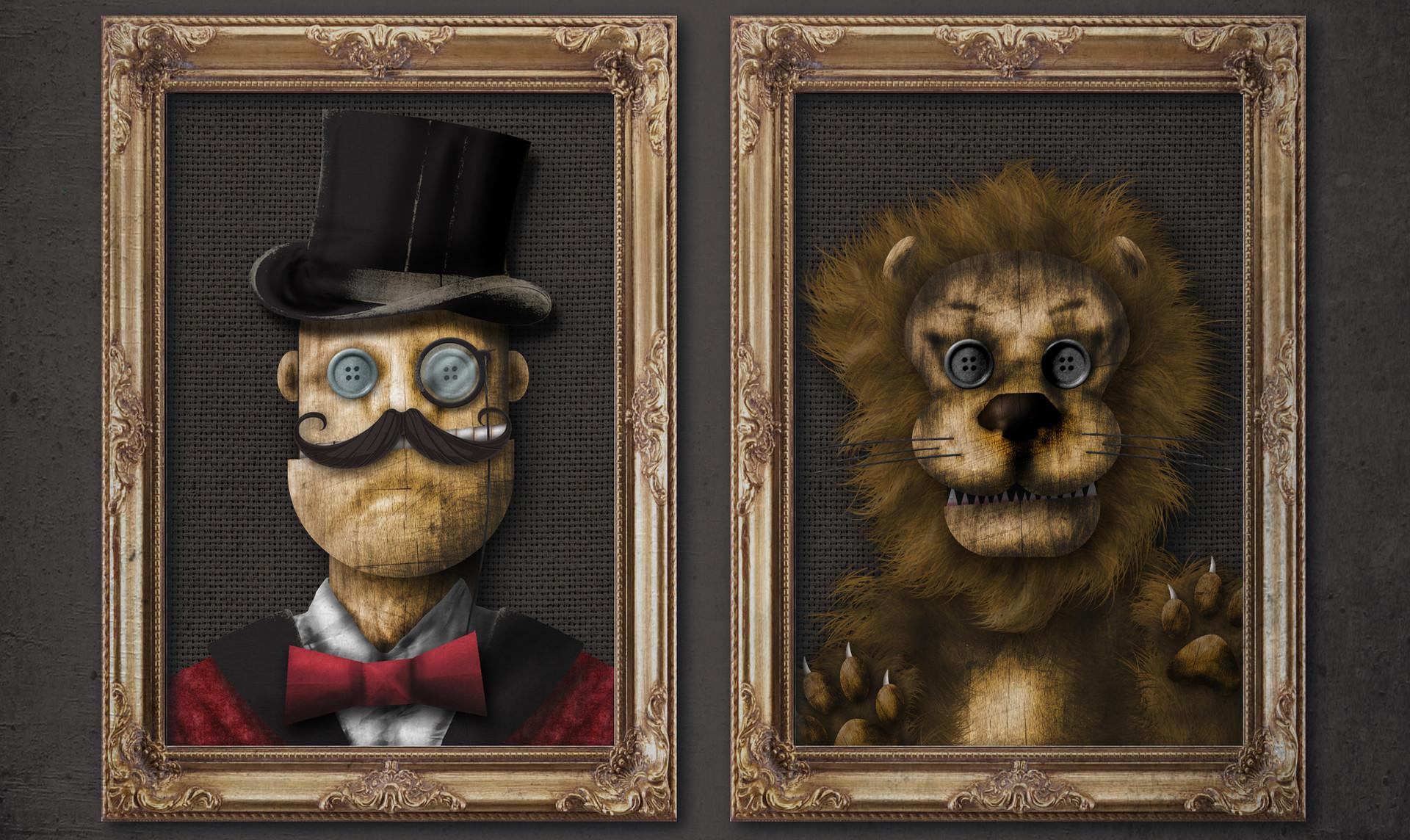 Smoke & Mirrors Character Design