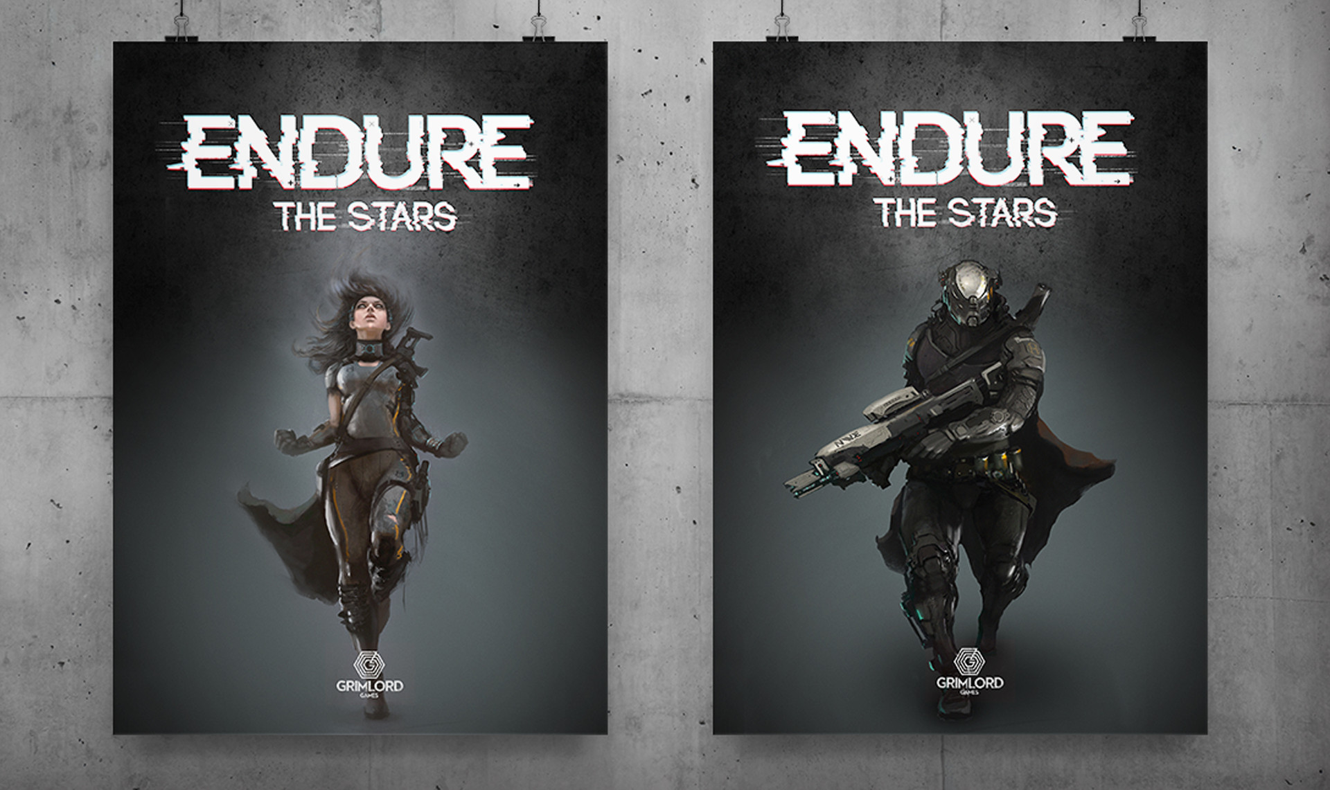 Endure The Stars Character Posters