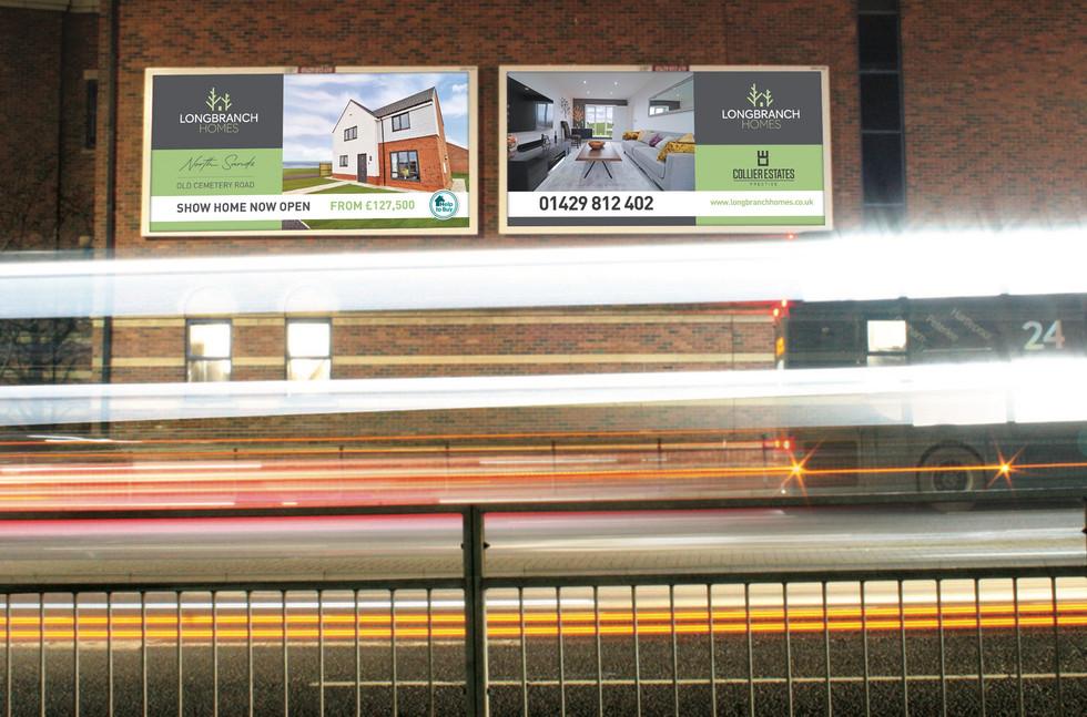 Longbranch Homes Billboard Design