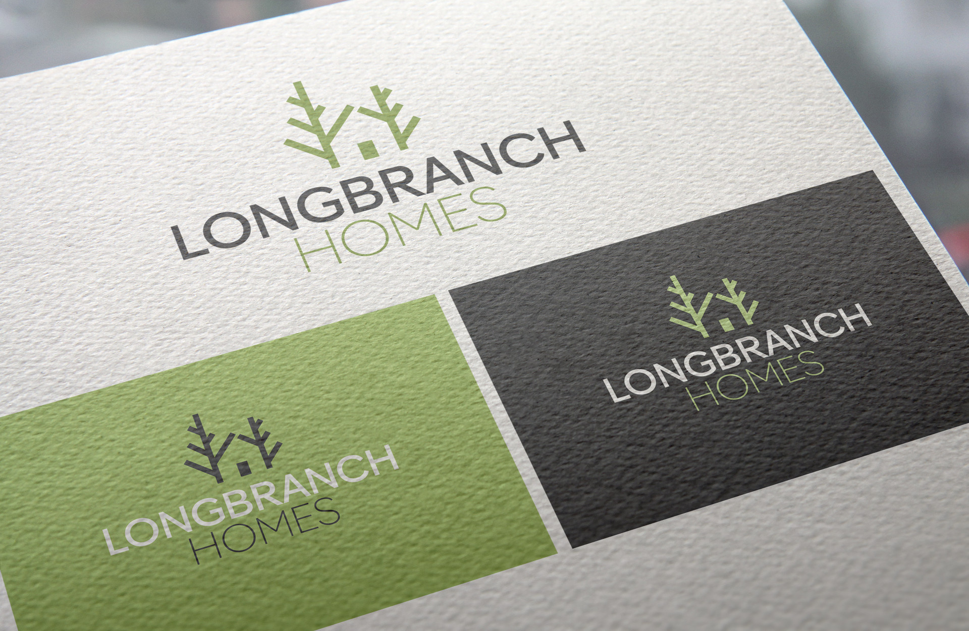 Lonbranch Homes Logo Design
