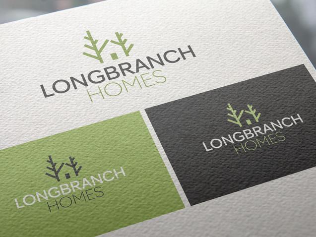 Longbranch Homes Branding