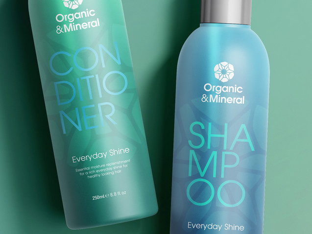 Organic & Mineral - Product Design