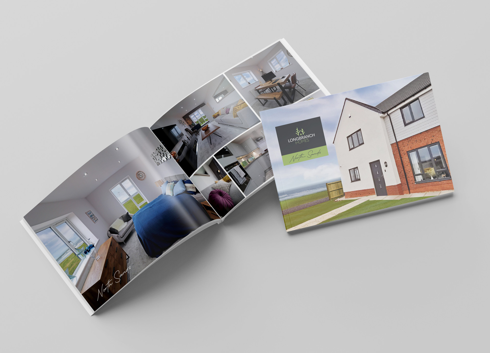 Longbranch Homes Booklet Design