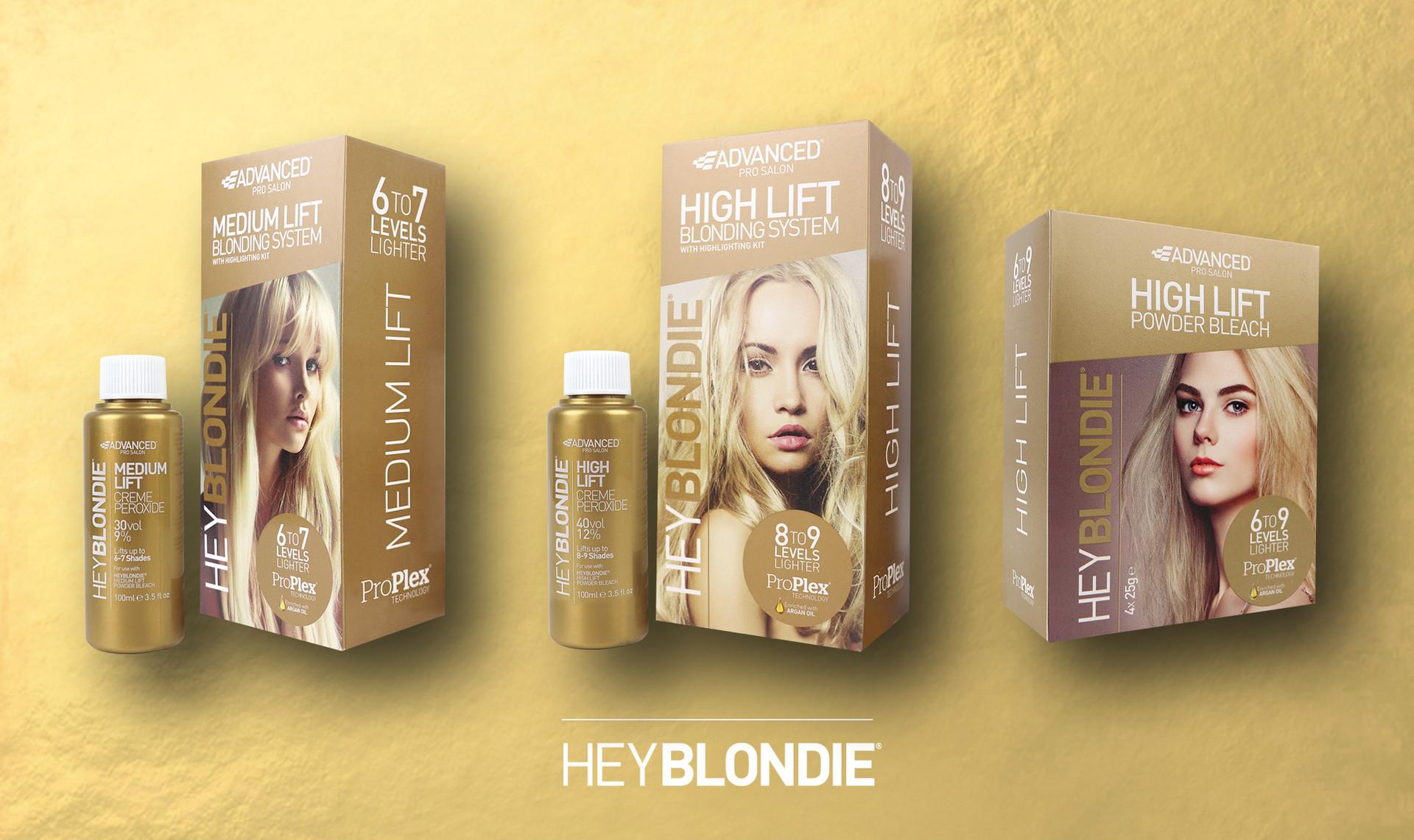 HeyBlondie Retail Packaging Design