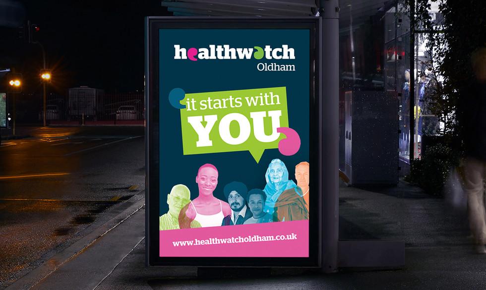 Healthwatch Poster Design