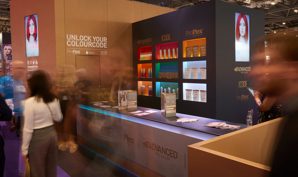 ColourCode Exhibition Stand Design