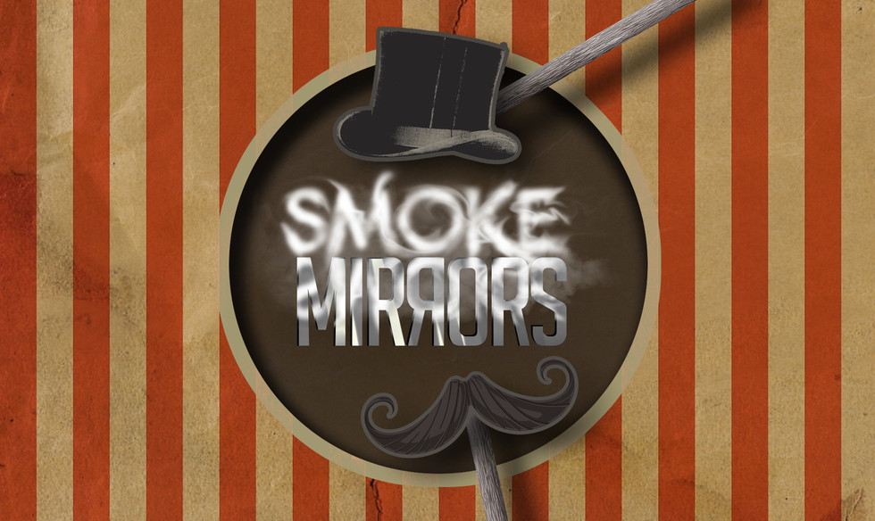 Smoke & Mirrors Logo Design