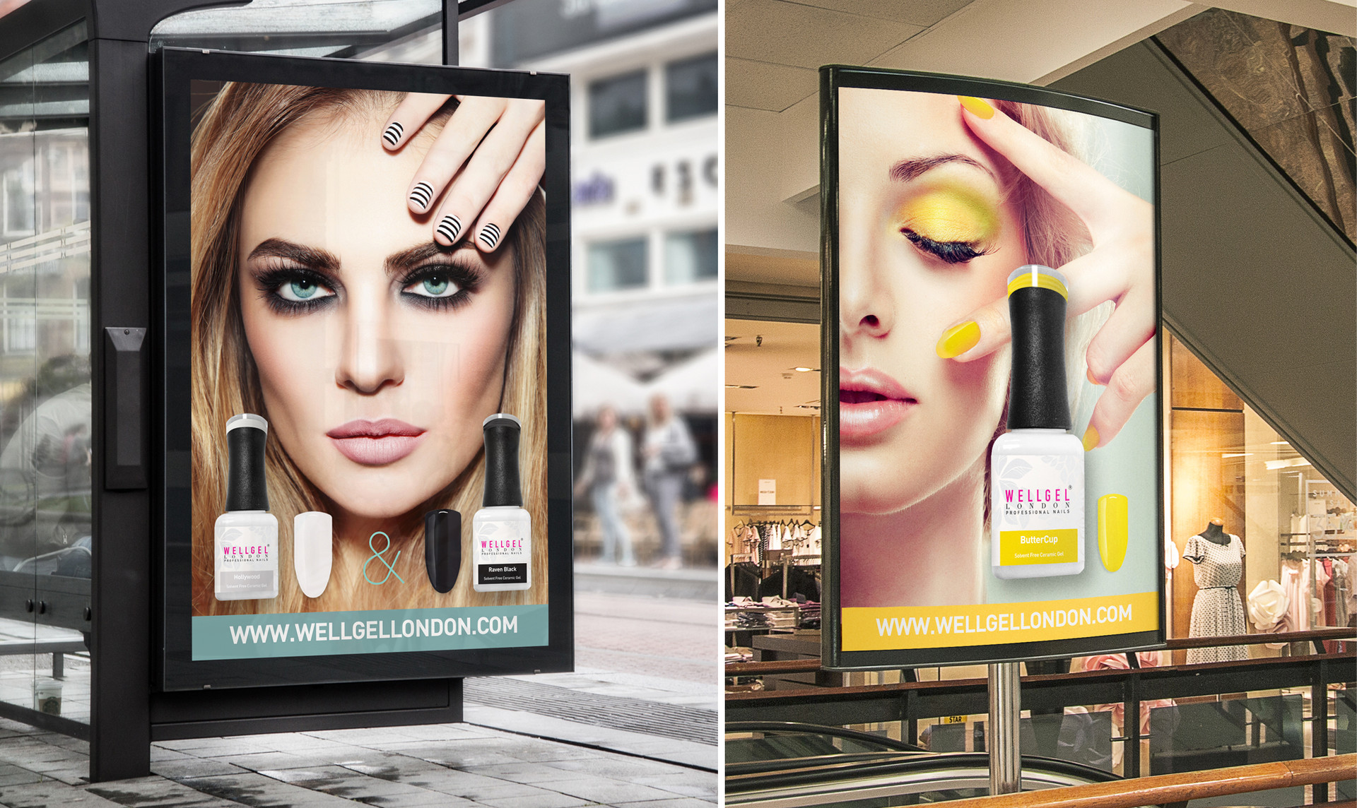 Wellgel London Advertising